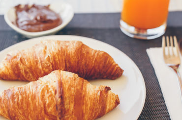 Fresh and delicious breakfast in hotel restaurant F&B forecasting