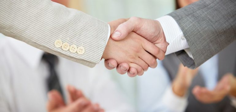 accurate data lead to closing deal and shake hands