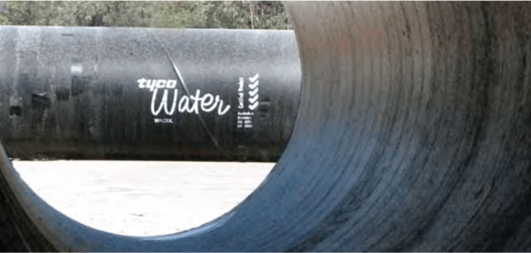 tyco water pipes automated survey case study